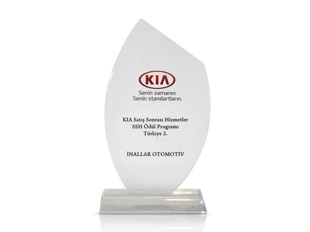 KIA Satış Sonrası Hizmetler SSH Ödül Programı Türkiye 2.si