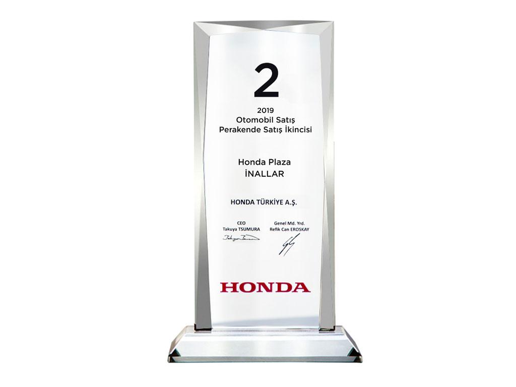 Honda Otomobil Satış Toplam Satış 2.si